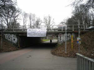 Soli-Banner in Hannover